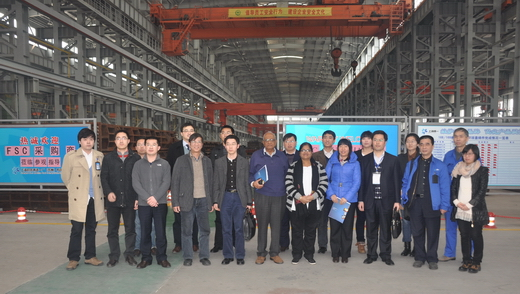 Visiting Shanghai No.1 Machine Tool Foundry (Suzhou) Co., Ltd.